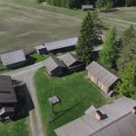 Aerial view Hevossilta