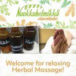 nuokkuhelmikkä herbal massage