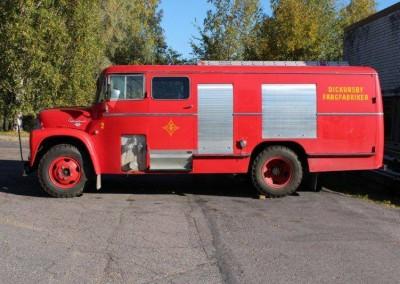Museotilan oma paloauto